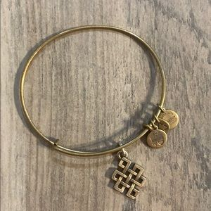 Alex and Ani Endless Knot Bracelet